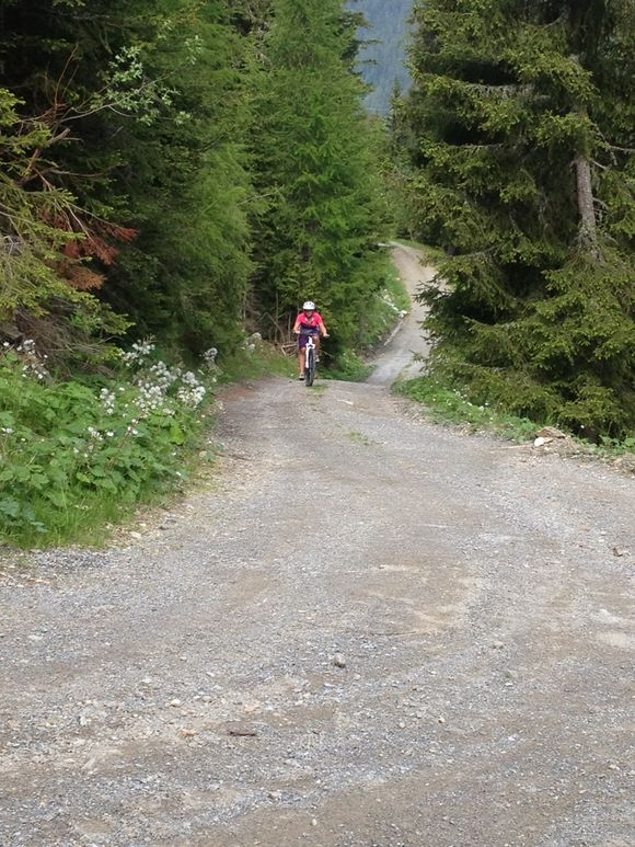 Mountainbike Tour zum rendl